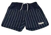 Mens size XL  Navy blue striped MOSSIMO  swim shorts boardies  board shorts NEW