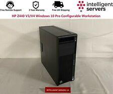 HP Z440 V3/V4 Windows 10 Pro Configurable Workstation