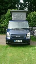 2012 FORD TRANSIT 140 T260 LIMITED, DAY VAN/CAMPER  4 BIRTH WITH POP UP ROOF
