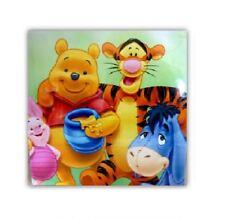Disney Winnie the Pooh infantil colgante LIENZO IMPRESO FOTO IMAGEN MARCO