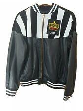 TROOP Champion Leather Jacket Custom LL COOL J size large