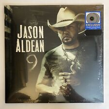 Jason Aldean - 9 - SEALED 2019 Limited Edition Smoke Colored LP Record