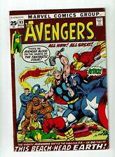 Avengers #93, FN+ 6.5, Thor, Iron Man, Vision, Kree-Skrull War; Neal Adams Art