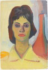 ARMENIAN ART,Soviet Realism,Portrait Painting,HARUTYUNYAN,Armenia 1962,Armenien