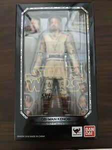 S.H. Figuarts Obi Wan Kenobi Attack of the Clones Bandai Star Wars