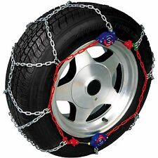 Snow Wheel Chains New AutoTrac AutoTensioning Diamond Pattern 4wd Size 240