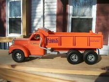 Smith Miller B Mack Blue Diamond Hydraulic Dump Orange