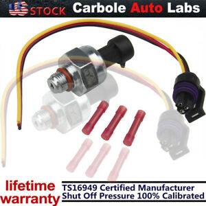 Injection Control Pressure ICP102 Sensor For 99-03 Ford 7.3L Powerstroke Pigtail