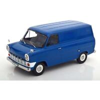 KK Scale Ford Transit Delivery Van 1965 Blue Ltd Edition 750pcs - 1:18