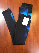 Athleta Tights Magnetic Power Lift Women's Compression Pants Blue Black XXS New