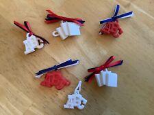 Amazing Ally Interactive Doll Accessories 5 Abc school Barrettes and pendant