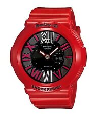 Casio Baby-G * BGA160-4B Neon Illuminator Gloss Red Women COD PayPal