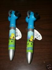 Two SpongeBob Slide Show Projection Pens NEW WITH TAGS