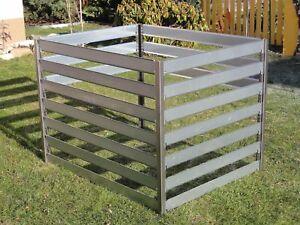 Komposter Metall verzinkt Gartenkomposter 44100