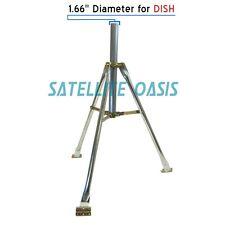 3FT Antenna Tripod Mount Satellite DISH DIRECTV WISP WIFI Mast Mount RV