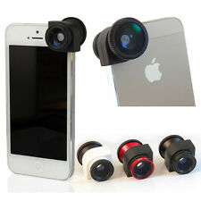 3 in 1 Camera Lens Kit Fish Eye Wide Angle Macro Lens For iPhone 5 5G 5S