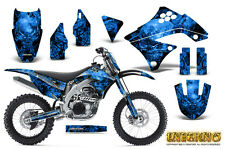 KAWASAKI KXF450 KX450F 09-11 GRAPHICS KIT CREATORX DECALS INFERNO BLNP