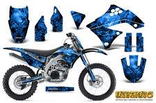 KAWASAKI KXF450 KX450F 09-11 GRAPHICS KIT CREATORX DECALS INFERNO BLNP