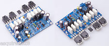 KIT L20 Audio power amplifier 2pcs 350W+350W AMP BOARDS 2channel  AMAZING