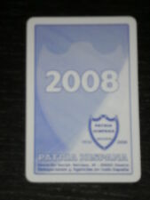 2008 - CALENDARIO FOURNIER - PATRIA HISPANA SEGUROS