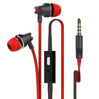 In-Ear Handsfree Headphones Earphones with Mic For MP3 Gym Sports Jogging 3.5mm