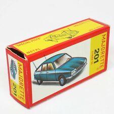 Majorette France - Original Empty Box - 201 Citroen GS - Die Cast Vintage Rare