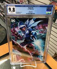 CGC 9.8 Flash 72 Derrick Chew Variant DC Comics