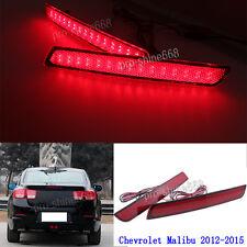 Car LED Brake Light Rear Fog Lamp LED Rear Bumper Light For 15 Chevrolet Malibu