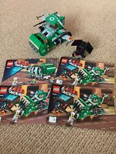 Lego Movie 70805 Trash Chomper 2 In 1 Complete Model Aprox 377 Parts