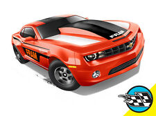 Hot Wheels Cars - '13 Chevrolet Copo Camaro Orange