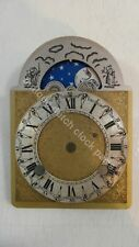 DIAL FOR DUTCH TABLE CLOCK 2 WINDING ARBORS WITH MOONDIAL