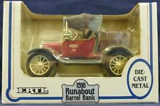 ERTL - 1918 Runabout Barrel Bank - 1:25 Scale - True Value