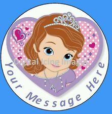 Cake topper edible digital image icing Sofia the first  REAL FONDANT