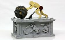 Lego Custom Sisyphus Kinetic Sculpture Ancient Greek Movement Art Display LEGOS