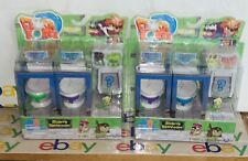 2x Flush Force Series 1 Bizarre Bathroom Collectible 8-Pack Figures Blind Box