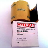 "4 Rolls Cotran Mastic Tape 2/"" X 10; Equivalent Waterproof Sealing"