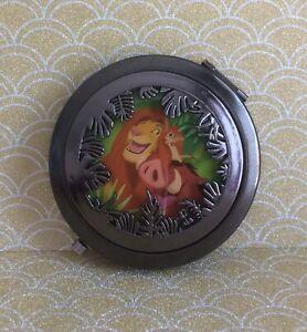 Disney The Lion King Simba Pumba Timon Die Cut Compact Mirror