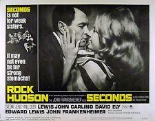 SECONDS 1966 Rock Hudson Salome Jens John Frankenheimer LOBBY CARD #8
