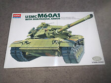 Academy, 1:35 scale, Usmc M60A1 w/Rise/Passive Armor, Display Model Kit #1349