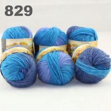 6Balls x 50g Chunky DIY Needle crafts Hand-Woven Knitting Scores Wool Yarn 29