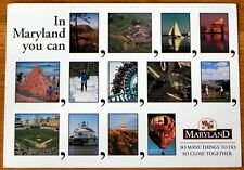 Unposted postcard Maryland Advertizing D29