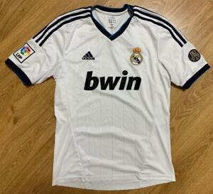 Real Madrid 2012/2013 110 Years Home Football Shirt Jersey Size M