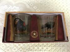 American Expedition Set of 2 Wild Turkey Shot Glasses New in Box