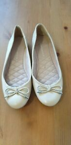 NEW Target leather ballet flas size 7