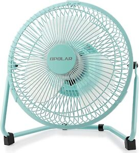 OPOLAR Battery Operated Recahrgeable Desk Fan for Home Camping Hurricane