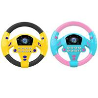 Electric Musical Copilot Stroller Steering Wheel Child Baby Educational Toy Best