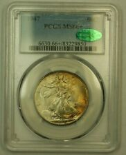 1947 Walking Liberty Half Dollar 50c PCGS MS-66+ CAC (Lightly Toned) (RS)