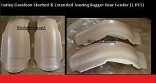 HARLEY Touring Bagger Overlay 09 - 13 CUTOUT streched extended Rear FENDER
