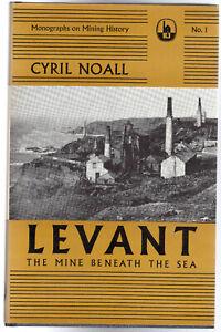 Levant: The Mine Beneath the Sea by Cyril Noall (Hardback, 1970 1st Edition)