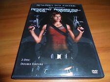 Resident Evil /Resident Evil: Apocalypse (DVD, 2007, 2-Disc Widescreen) Used 1 2